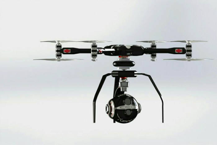 Thermal infrared camera drones developed by UMAC Air and VARAVON