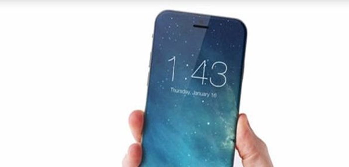 Prediction of iPhone that has its front screen composed of all display without a home button. Marek Weidlich, a designer from Czech Republic, designed it. Picture = Marek Weidlich/Concept iPhone